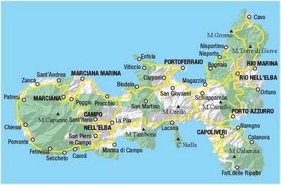 Cartina Elba Isola.Gita All Isola D Elba 2018 5 C Scientifico G Alessi 1974